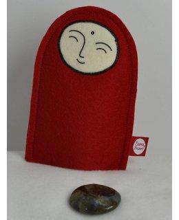 Jizo with Wishing Stone – Labradorite