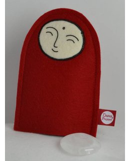 Jizo with Wishing Stone – Quartz