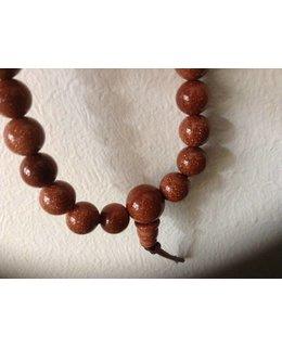 Mala bracelet Goldstone