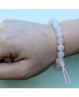 Mala-armbandjes roze kwarts