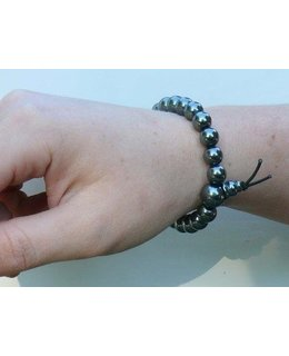Mala-armbandjes Hematiet