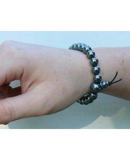 Mala bracelet Hematite