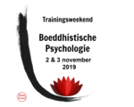 Buddhist Psychology, 2 & 3 November 2019