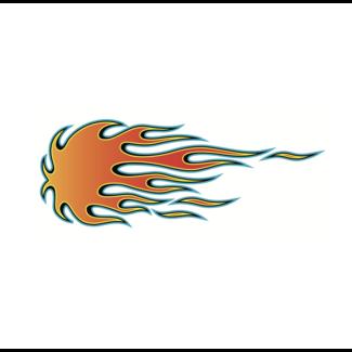 ViceVinyls Tribal flame