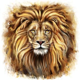 ViceVinyls Leeuw realistisch