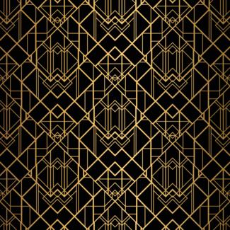 ViceVinyls Art deco geometrisch patroon