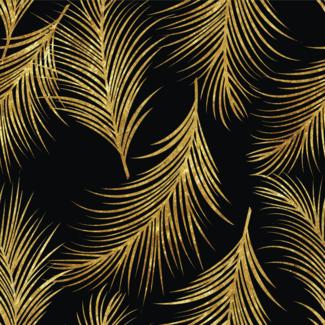 ViceVinyls Art deco palmbladeren dun