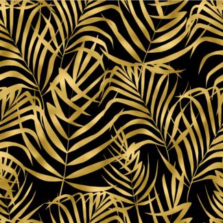 ViceVinyls Art deco palmbladeren