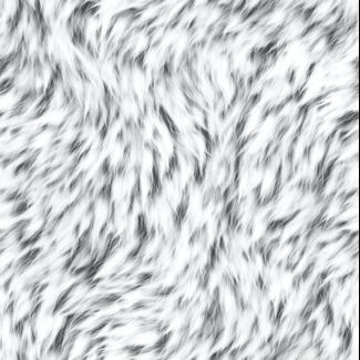 ViceVinyls Wolf vacht licht grijs