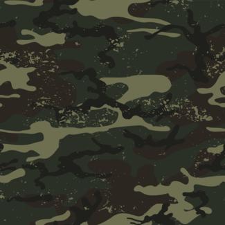 ViceVinyls Camo army dirty groen