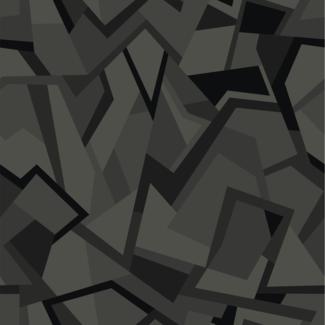 ViceVinyls Camo geometric donker grijs