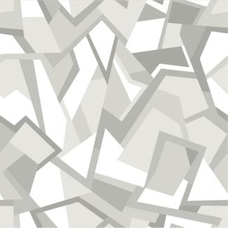 ViceVinyls Camo geometric wit grijs