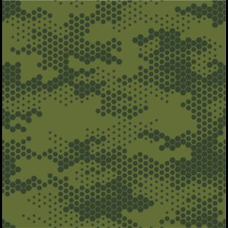 ViceVinyls Camo hexagon groen