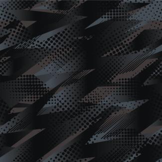 ViceVinyls Camo race abstract zwart