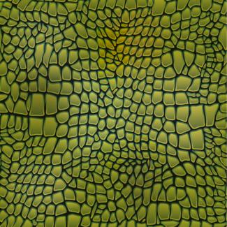ViceVinyls Krokodil huid groen