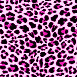 ViceVinyls Luipaard print roze