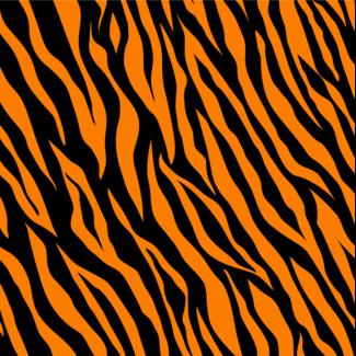ViceVinyls Tijger oranje