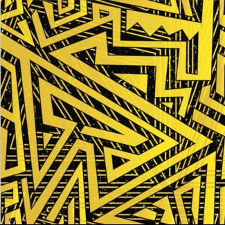 ViceVinyls Maze bumblebee geel