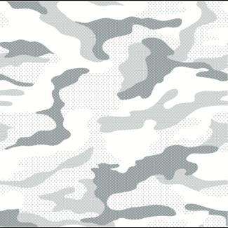 ViceVinyls Camo sneeuw wit wrap voor hele auto - SALE- 40% korting