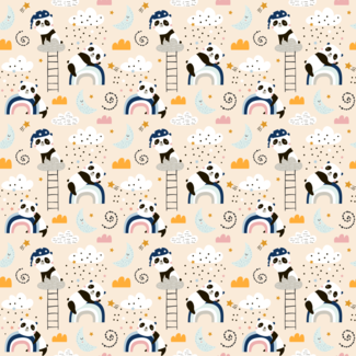 ViceVinyls Slapende panda's
