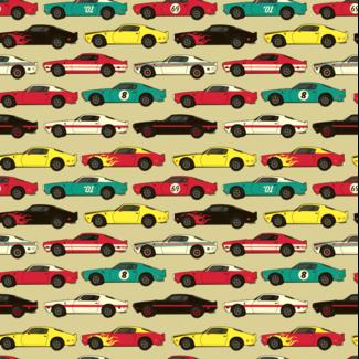 ViceVinyls Vintage race auto's