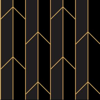 ViceVinyls Art deco rechte lijnen