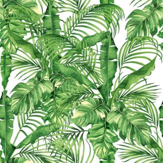 ViceVinyls Aquarel tropische bladeren