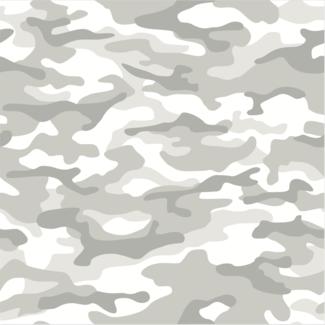 ViceVinyls Camouflage wit grijs