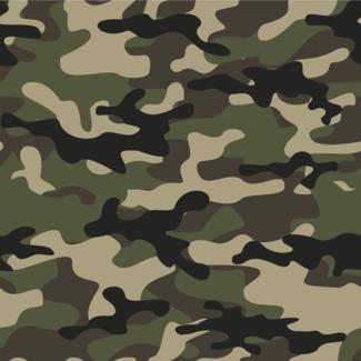 ViceVinyls Camo army groen beige zwart