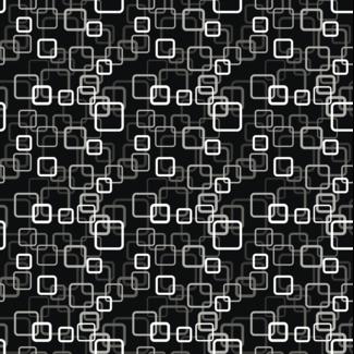 ViceVinyls Retro abstract zwart patroon