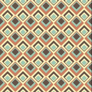 ViceVinyls Retro 70's patroon