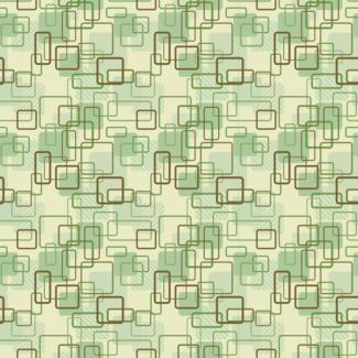 ViceVinyls Retro abstract patroon groen