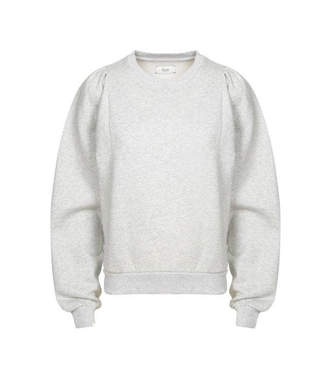 Ame Antwerp Sweater Eve grey melange.