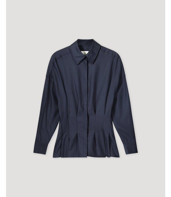 Rohe Blouse Linde navy.