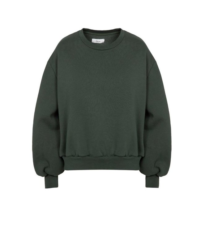 Ame Antwerp Sweater Clemence bistrot green
