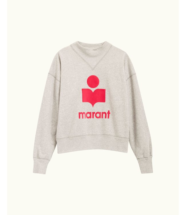 Isabel Marant Sweater Moby grey pink