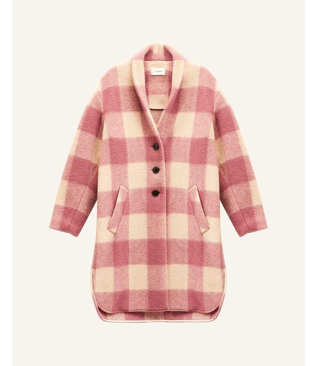 Isabel Marant Coat Gabriel rosewood