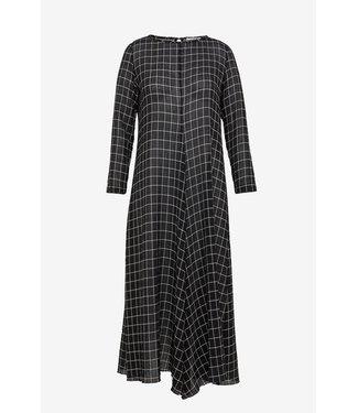 Pomandère Dress check noir.