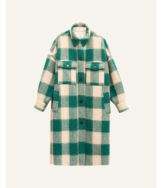 Isabel Marant Coat Fontizi green.