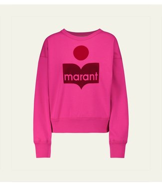Isabel Marant Sweater Mobyli neon pink.