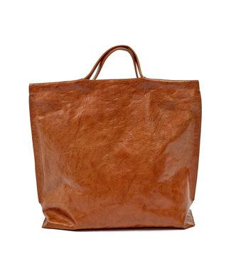 Bea Mombaers for Serax Bag Shopper cognac.