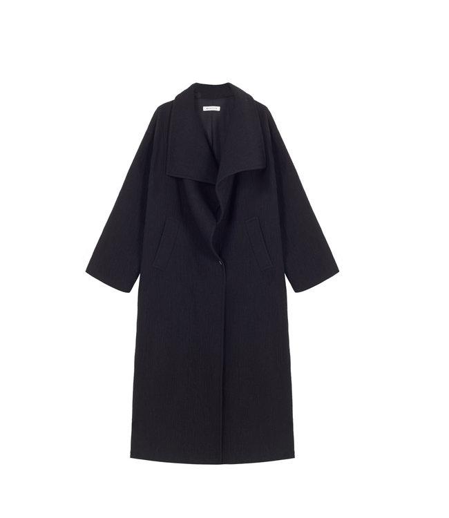 Masscob Coat Gilbertine black.