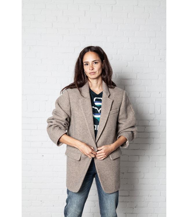 Isabel Marant Jacket Nilinda beige.