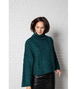 Isabel Marant Pullover Ingrid dark green.