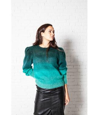 Isabel Marant Pullover Deniza dark green.