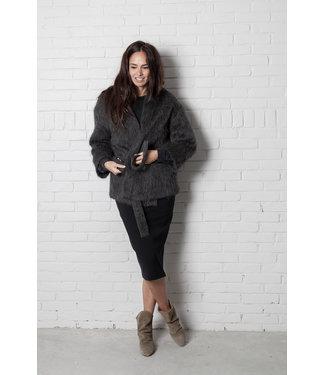Pomandère Jacket dark grey.