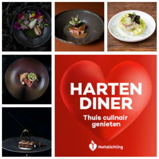 9 Michelinsterren Harten Diner