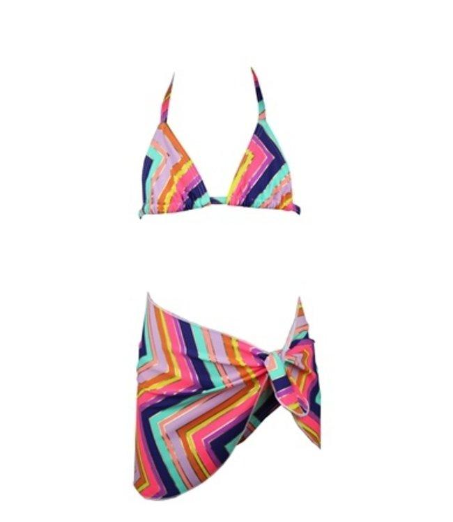Lentiggini bikini met pareo
