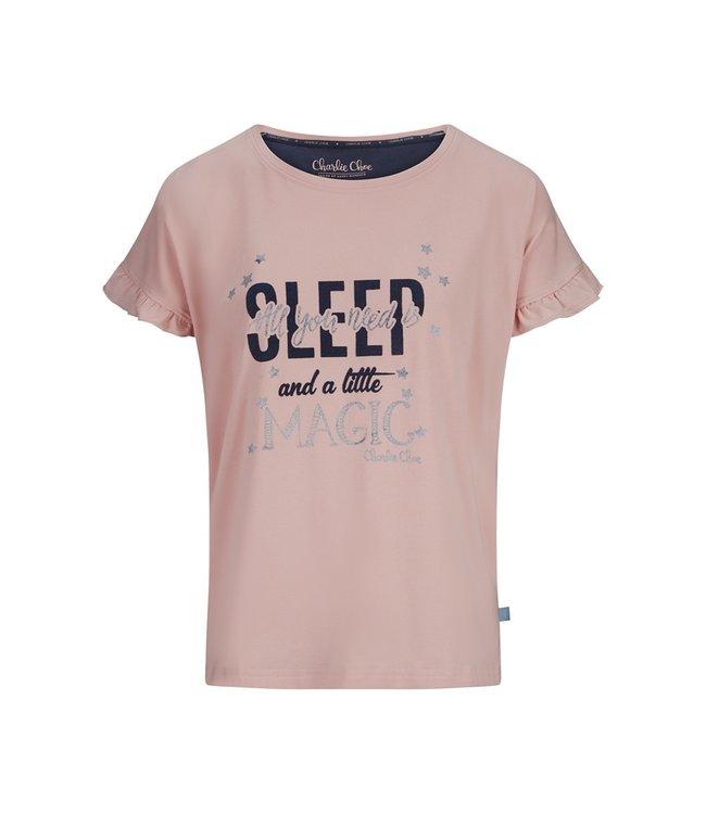 Charlie Choe Women t-shirt ruffle