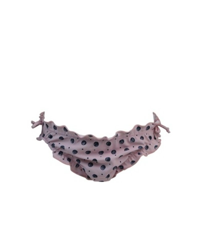 Lentiggini Girls Swim slip (Aop pink + navy)